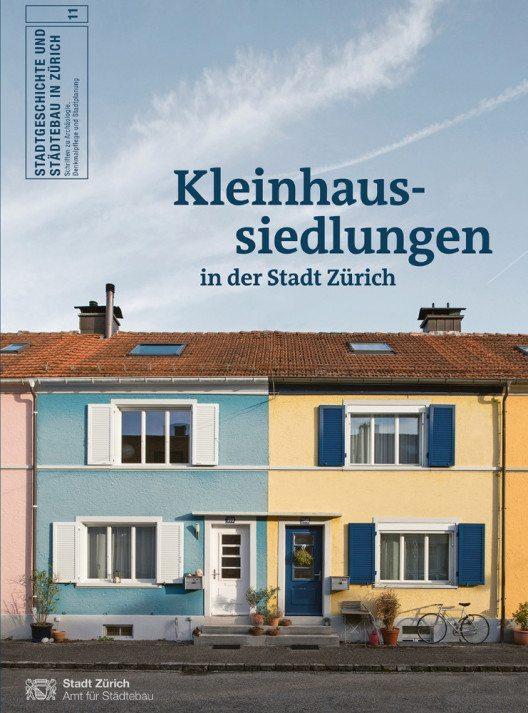 Titelseite der Publikation «Kleinhaussiedlungen» (Bild: Juliet Haller AfS)