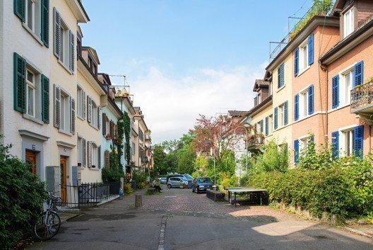 Kleinhaussiedlung «Eigen-Heim» im Seefeld (Bild: Juliet Haller, AfS)