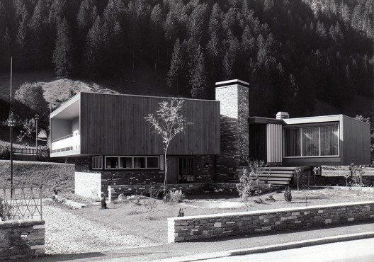 Villa in Ambri, 1958, Architektur F.lli Guscetti (Bild: © Fotograf unbekannt)