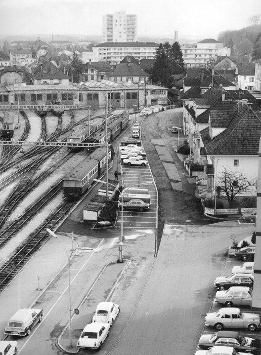 Solothurn Depot 1984 (Bild: Regionalverkehr Bern-Solothurn RBS)
