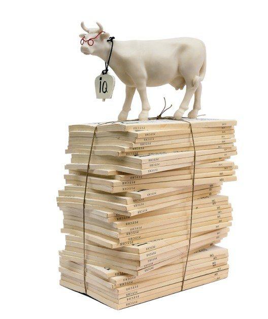 Kunststudierende aus der Schweiz und China zeigen die Kuh in ihrer Vielfalt (Bild und Artikelbild: © Haus Appenzell)