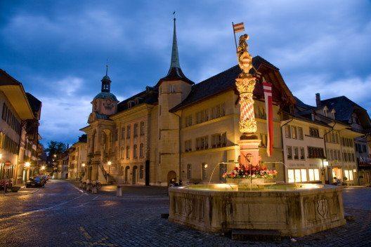 Niklaus Thut Memorial, Zofingen (Bild: © Roland Zihlmann - shutterstock.com)