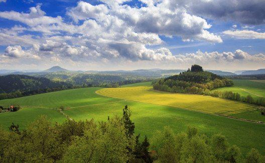 Der Blick auf den Zirkelstein (Bild: scimmery – Shutterstock.com)