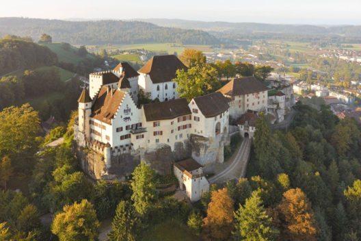 Schloss Lenzburg (Bild: Museum Aargau)