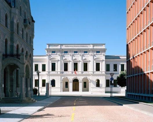 Bellinzona, Bundesstrafgericht (Bild: © ambrosetti)