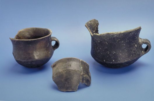 Bronzezeitliche Keramik (1700 v. Chr.) aus der Fundstelle Beinwil-Ägelmoos. (Bild: Kantonsarchäologie Aargau)