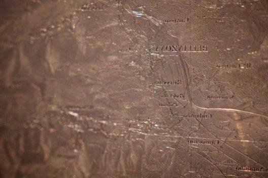 Guillaume-Henri Dufours topographische Darstellung der Schweiz 1:100'000 ist die erste exakte Karte der Schweiz. Die über Jahre aufwändig zusammengetragenen Daten wurden mit Sticheln auf 25 Kupferplatten übertragen. (Bild: © Schweizerisches Nationalmuseum)