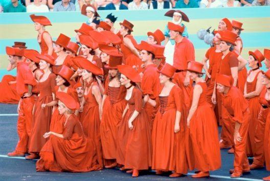 Roter Chor, Fête des Vignerons à Vevey, 1999