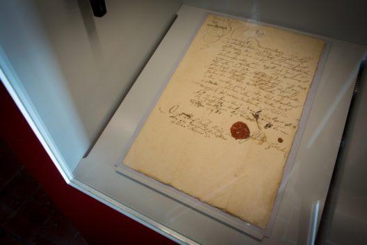 Reisepass für Bernhard Effinger von 1683