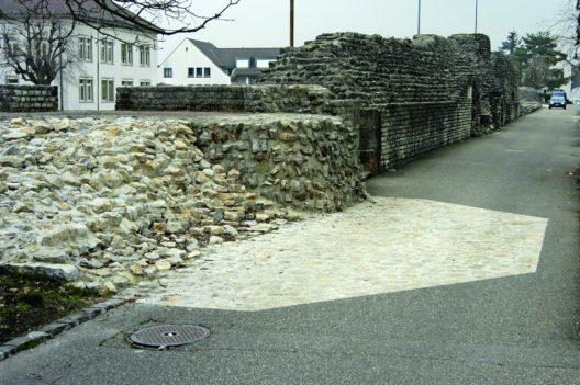 Kaiseraugst, Castrum Rauracense
