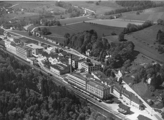 Fabrik Vogel, 1948 (Bild: © Archiv Givaudan)