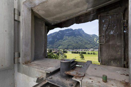 """Die Sperrstellen im Kanton Glarus hatten die Aufgabe, den Vormarsch ins """"Reduit"""" zu verhindern. (Bild: © Michael Peuckert)"""