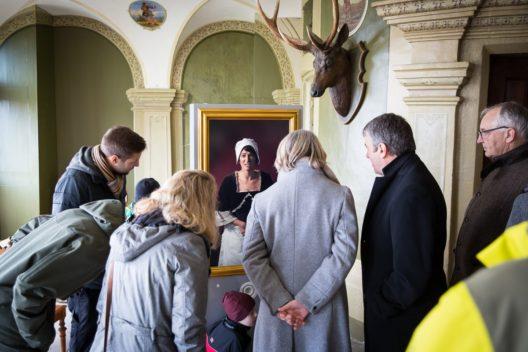 Neue sprechende Porträts in der Dauerausstellung von Schloss Wildegg