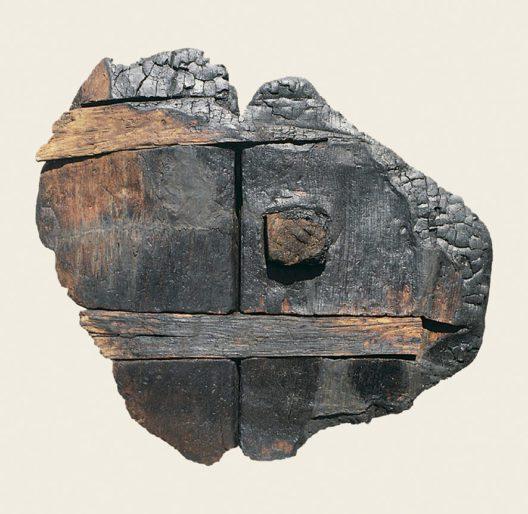 Jungsteinzeitliches Rad aus Vinelz (Bild: © Archäologischer Dienst des Kantons Bern, Badri Redha)