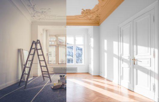 Ist die Immobilie renovierungsbedürftig? (Bild: hanohiki - shutterstock.com)