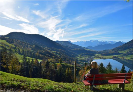 Panoramaweg Ägerital (Bild: © Hans Peter Bruder)