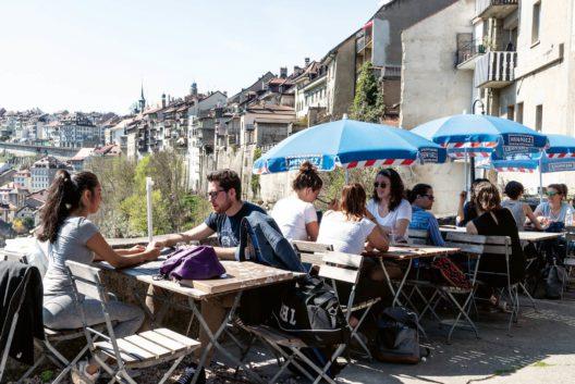 Café du Belvédère, Fribourg FR