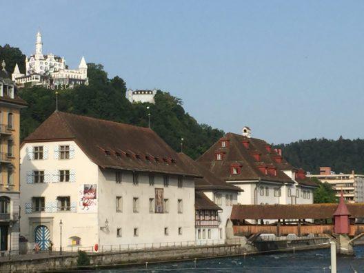 Die heutigen Gebäude des Natur- und des Historischen Museums Luzern (Bildquelle: Kanton Luzern)