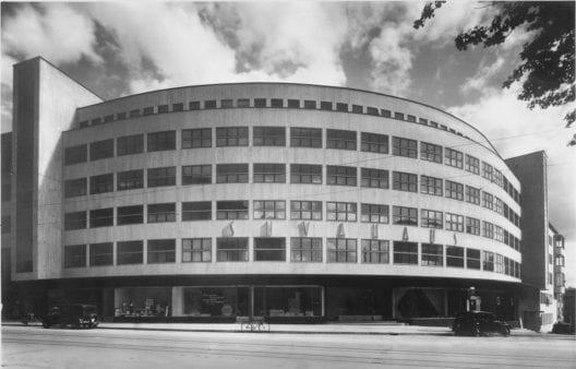Das Suva-Haus in Bern (1929-31) von Salvisberg und Brechbühl (Bildquelle: Moderne Bauformen 1930, Fotograf: Franz Henn Bern)