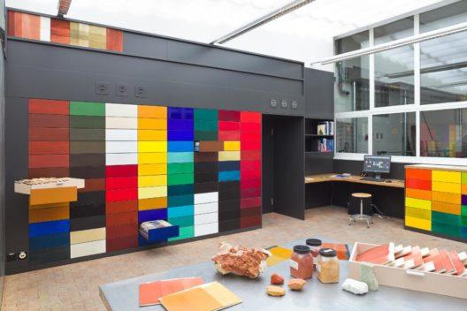 Matrialbibliothek HSLU Kunst & Design, Emmenbrücke