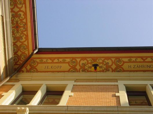 Dachuntersicht Sälischulhaus, Luzern