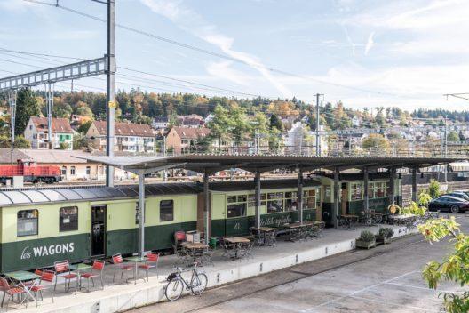 ICOMOS Gewinner 2020, Spezialpreis Kategorie Restaurant: Les Wagons, Winterthur. (Bild: obs/ICOMOS Suisse/Andre Meier)