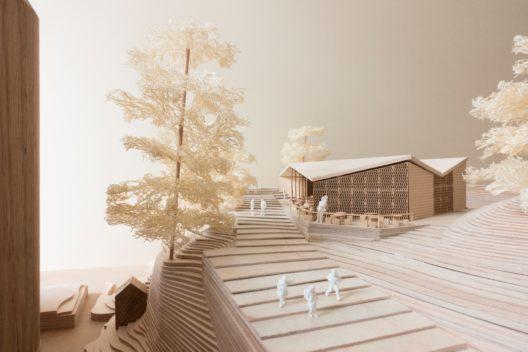 Holzmodell des Café Byron (Bild: © FCC Stephan Engler)