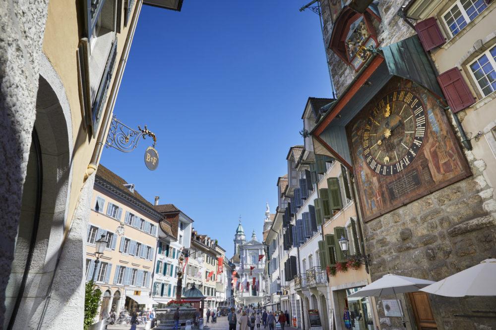 Solothurn, Zeitglockenturm (Bild: © Solothurn Tourismus, Tino Zurbrügg)