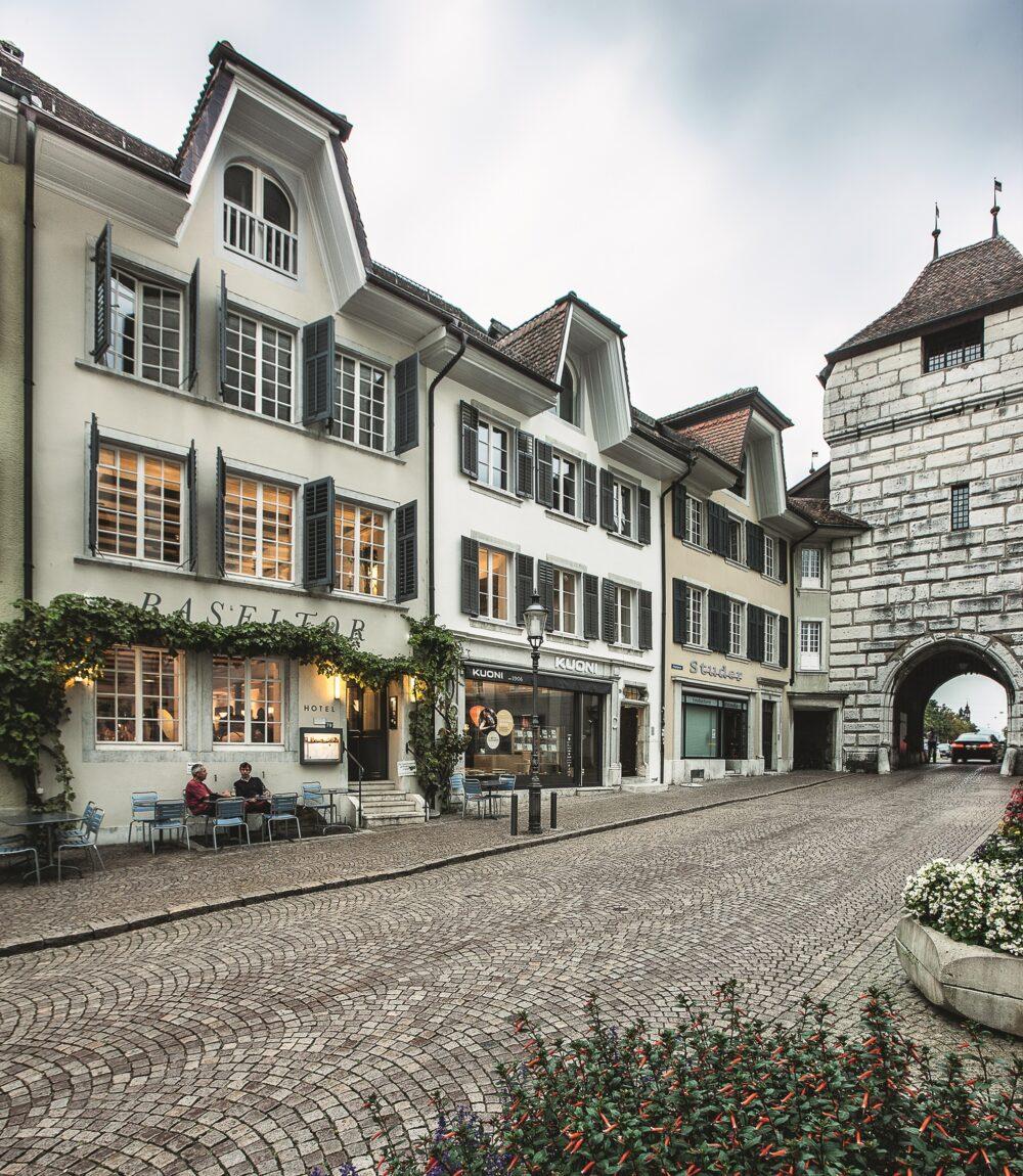 """Genossenschaft Baseltor"" in Solothurn, ICOMOS-Spezialpreis 2021 (Bild: obs/ICOMOS Suisse)"