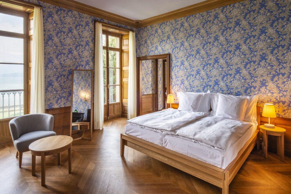 """Schloss Schadau, """"Historisches Hotel des Jahres 2021"""" (Bild: obs/ICOMOS Suisse/Christian Helmle)"""