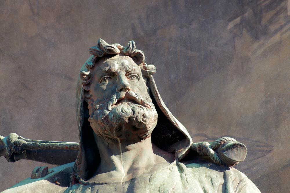 Wilhelm Tell-Statue in Altdorf UR (Bild: Marlon Trottmann - shutterstock.com)