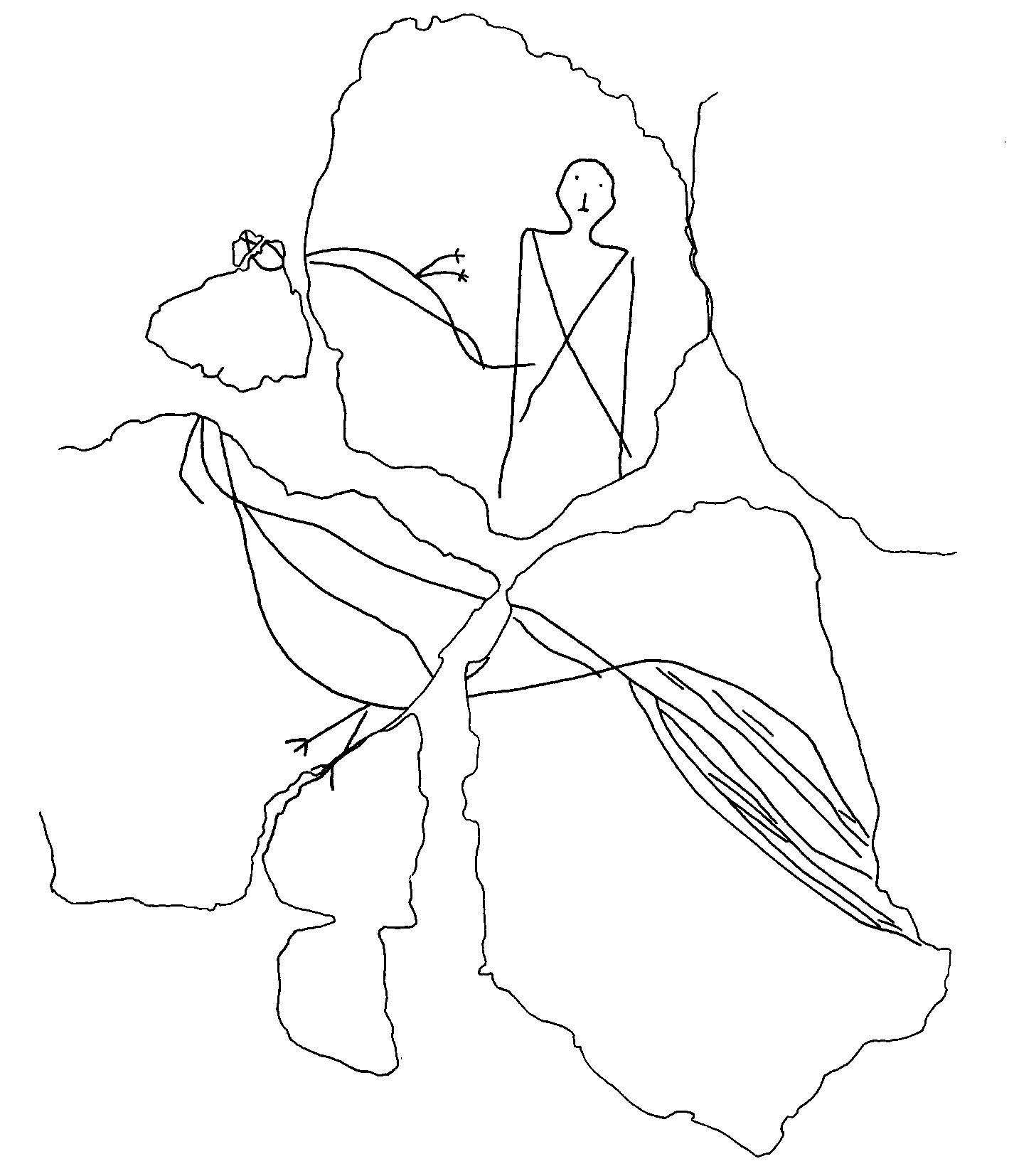 Römisches Freizeitvergnügen: Szenen eines Hahnenkampfs in den Verputz einer Wand geritzt. (Bild: B. Hartmann, Universität Zürich)