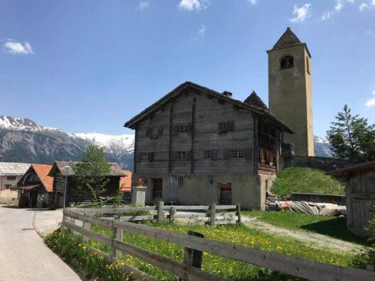 Pfrundhaus in Lohn GR