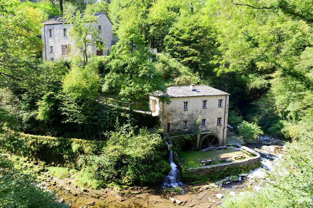 Alte Mühle im Muggiotal