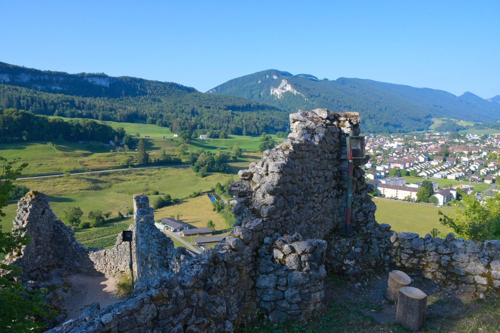 Burgruine bei Balsthal